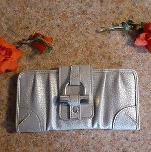 New York  &.company silver wallet.